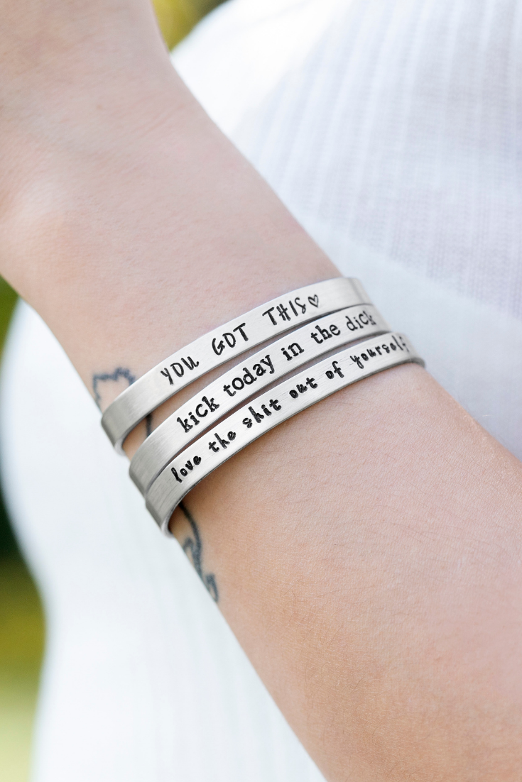 Wicked Love Creations | Hand-Stamped Accessories | 5 Things to Give: Best Friend Edition | Thoughtfully Handmade