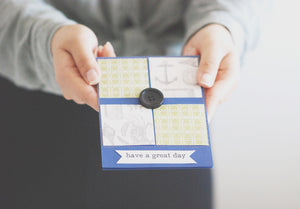Journey to Home handmade 'have a great day' card by Thoughtfully Handmade