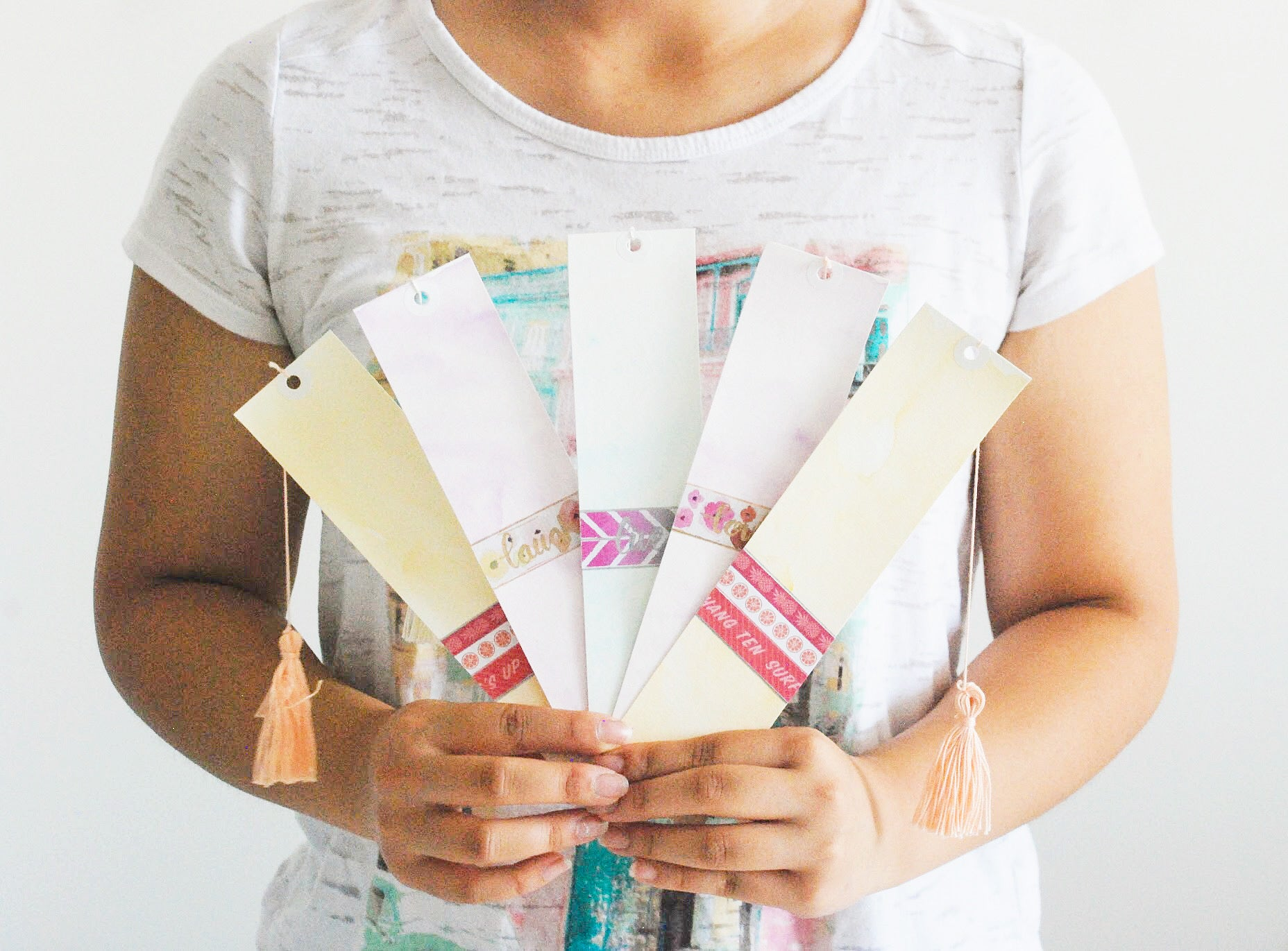 Watercolour Madness | Handmade Watercolour Bookmarks | Thoughtfully Handmade