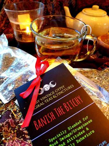 Crafted Teas: Banish the Bitchy