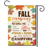 "Campsite Flag ""Fall Camping"""