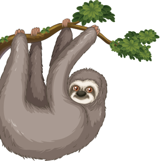 Mascot Simon the Sloth