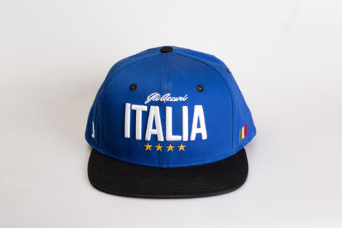 Italy Snapback with Suede Leather - Jayban.de