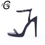 Women Shoes Comfortable Softs Sexy Classic Fashionable Buckle Ankle Strap High Heels