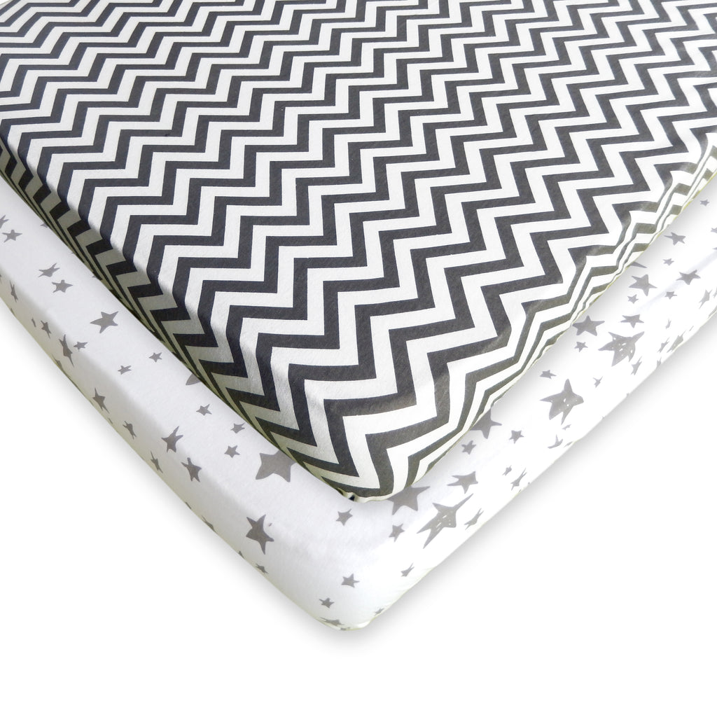 Pack n Play Fitted Sheets - 2 PACK