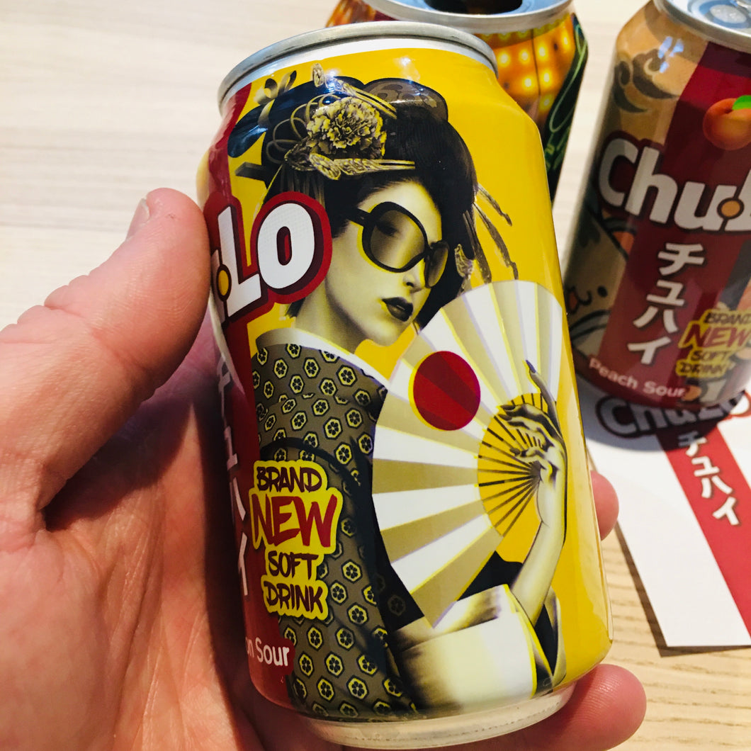 Chu-Lo lemon soft drink