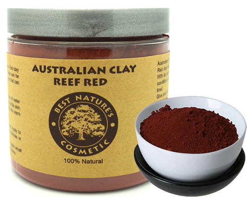 Australian Reef Red Clay. Delicately replenishes