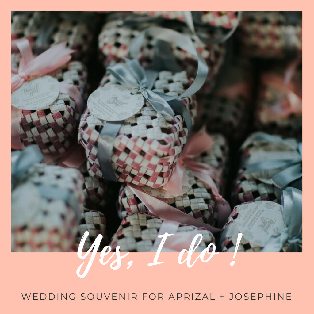 Wedding Souvenir For Aprizal + Josephine