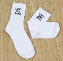 I Don't Give A Fuck Socks - Zero Fs Clothing