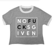 No Fucks Given Crop Tee