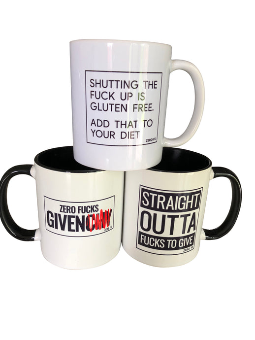 Zero Fs Coffee Mugs