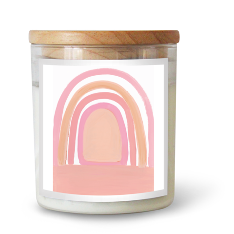 RAINBOW BLESSINGS CANDLE BY NATALIE JADE