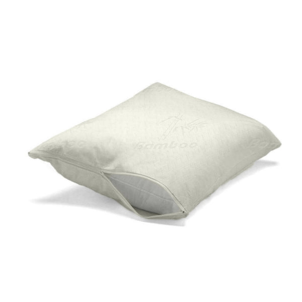 Bamboo Jacquard Pillow Protector - Twin Pack