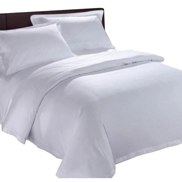 100% Organic Bamboo Quilt Cover Set - White