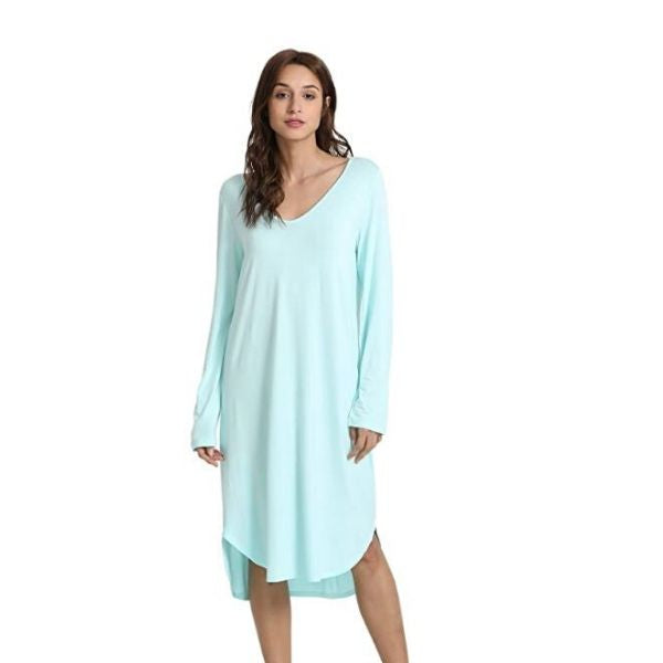 Bamboo Long Night Gown