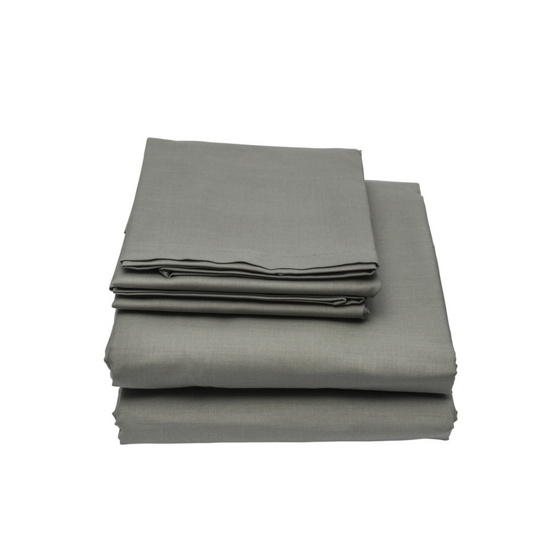 100% Organic Bamboo Bed Sheet Set 400 TC - King Single