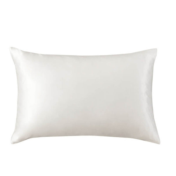 Pure Silk Pillowcase - Ivory