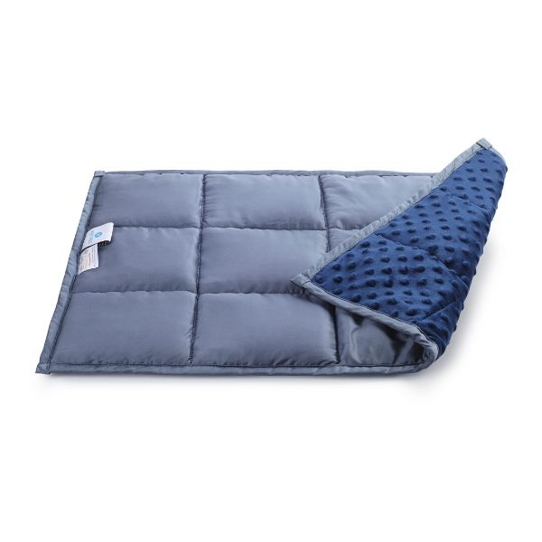 Dual Sided Bamboo/Minky Lap Weighted Blanket