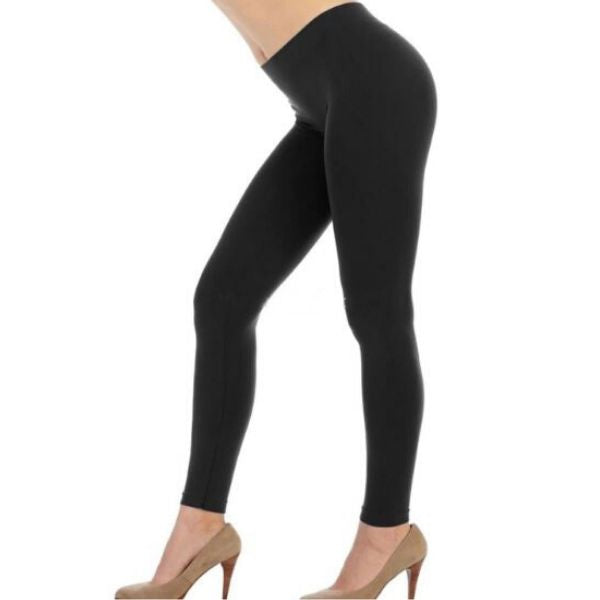 High Waist Seamless Bamboo Leggings
