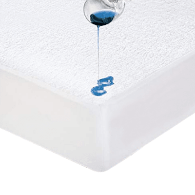 Terry Bamboo Waterproof Mattress Protector - Fitted