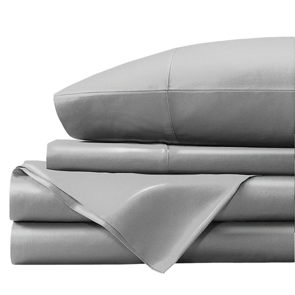100% Organic Bamboo Bed Sheet Set - Platinum