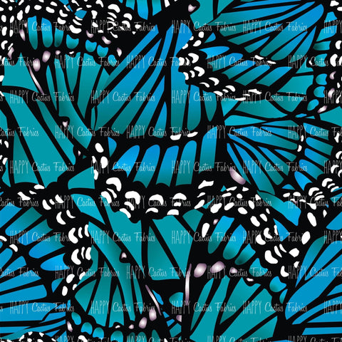 Teal Butterfly Wings