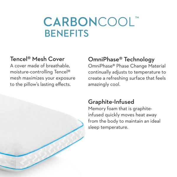 CarbonCool Omniphase Pillow