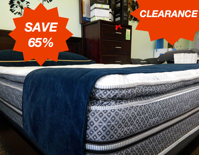 Coventry Pillow Top Plush Pocket Coil Mattress - Twin XL - Save 65%