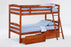 Sesame 100% Hardwood Bunk Bed
