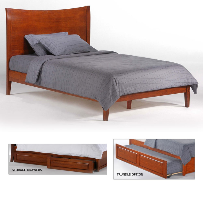 Blackpepper Hardwood P-Series Platform Bed