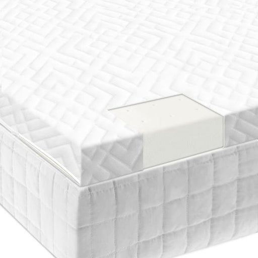 "Isolus 2"" 100% Natural Latex Foam Bamboo Mattress Topper"