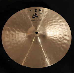 "KOIDE CYMBALS Absolute 14"" HiHats / Thin Top and Heavy Bottom"