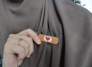 #MyFineHeart Metal Pin