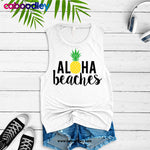 Aloha Beaches Svg Cut File, Dxf Cut File, Clipart, Printable, Instant Download