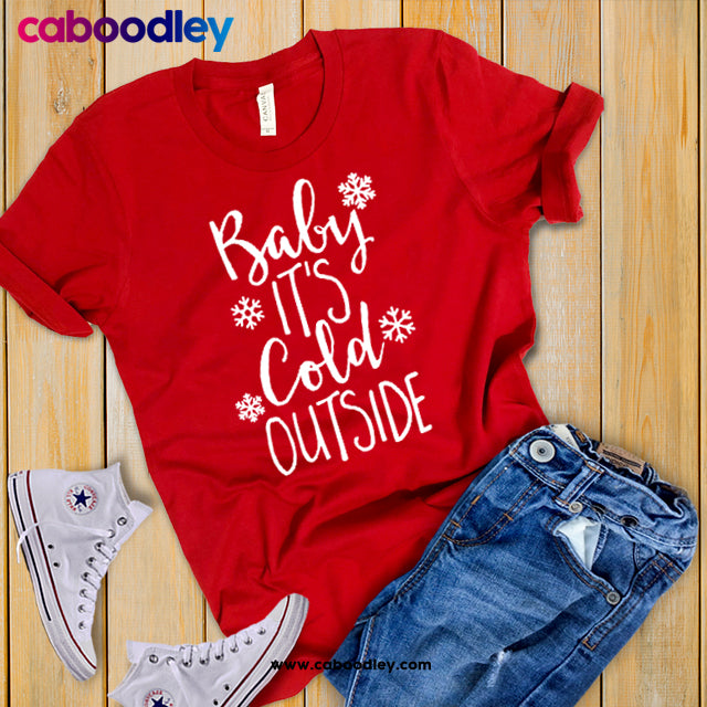 Baby It's Cold Outside Svg Cut File, Dxf Cut File, Clipart, Printable, Instant Download