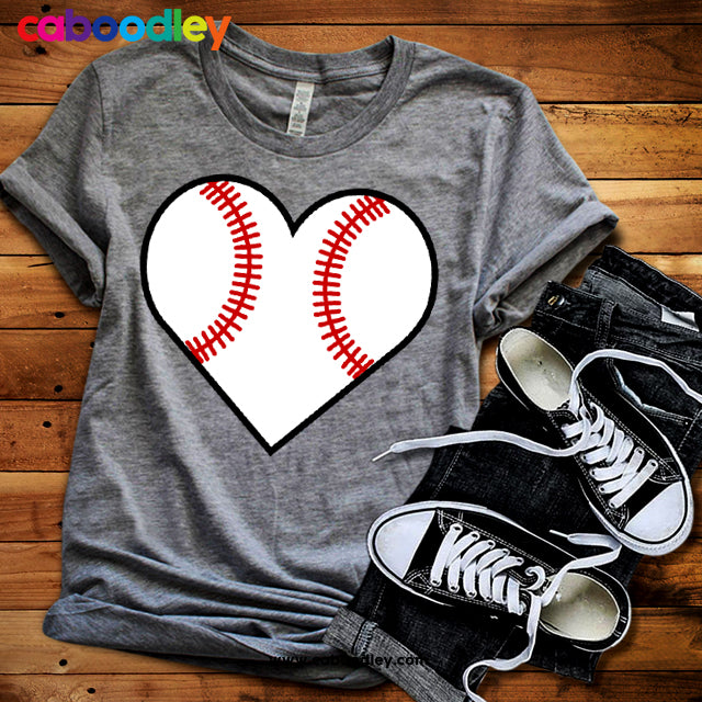 Baseball Heart Svg Cut File, Dxf Cut File, Clipart, Printable, Instant Download