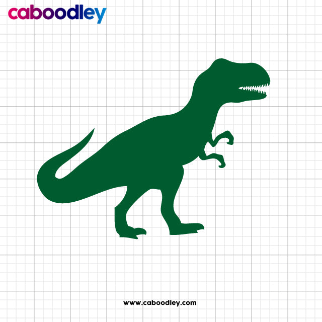Dinosaur Svg Cut File, Dxf Cut File, Clipart, Printable, Instant Download - Oodles of Graphics