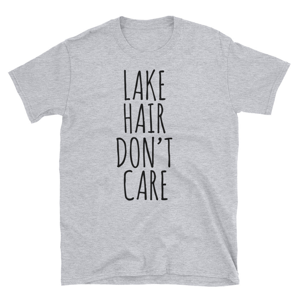 Lake Hair Don't Care Unisex Tee