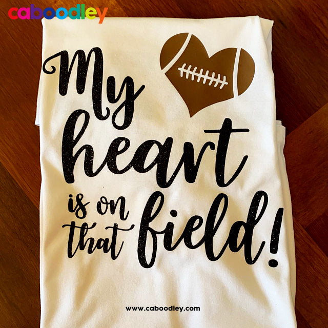 Football Heart Svg Cut File, Dxf Cut File, Clipart, Printable, Instant Download