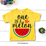 One In A Melon Svg Cut File, Dxf Cut File, Clipart, Printable, Instant Download