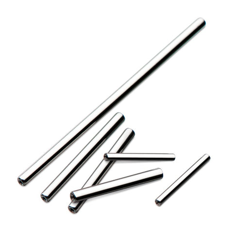 Threadless Straight Barbell