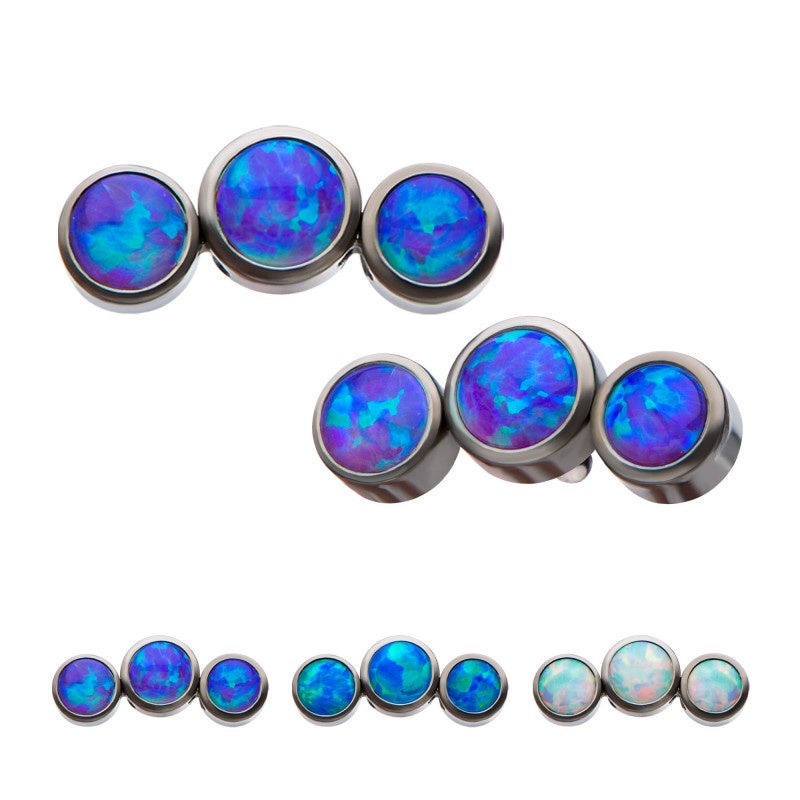 3 Opal Threaded Top