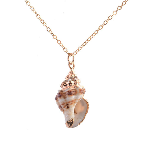 Image of Bohemian SeaShell Necklace