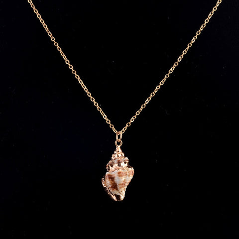 Bohemian SeaShell Necklace