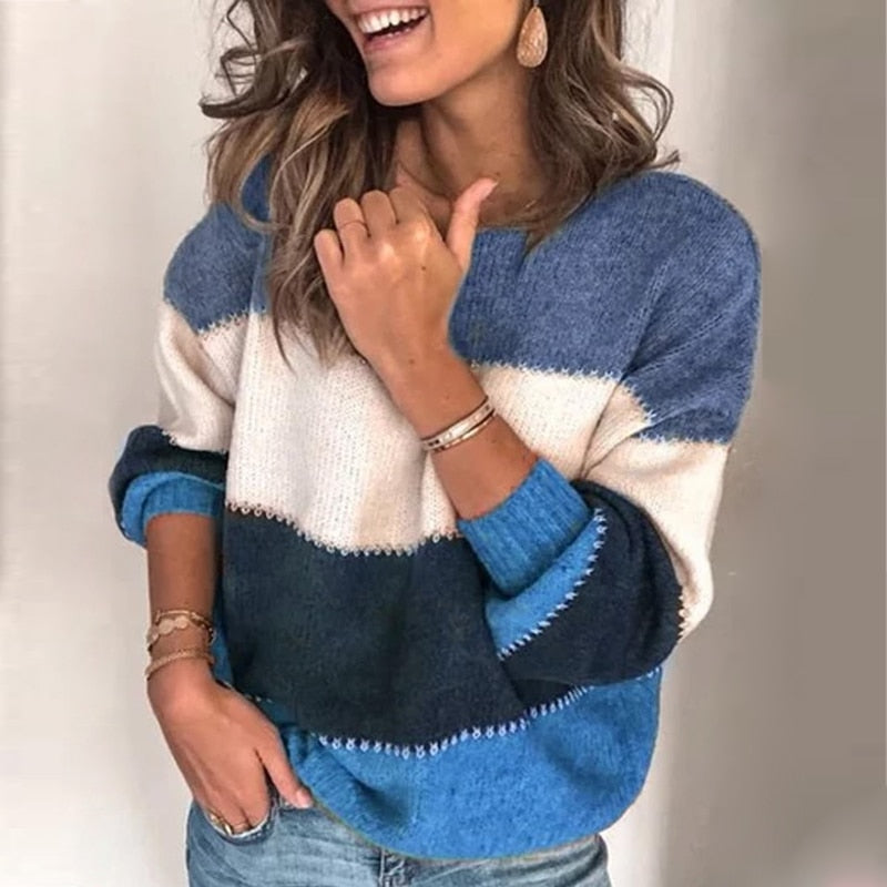 Warm Winter Knitted Sweater