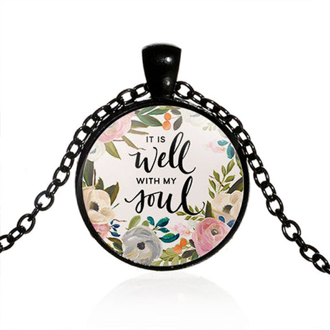 Image of It Is Well With My Soul Necklace