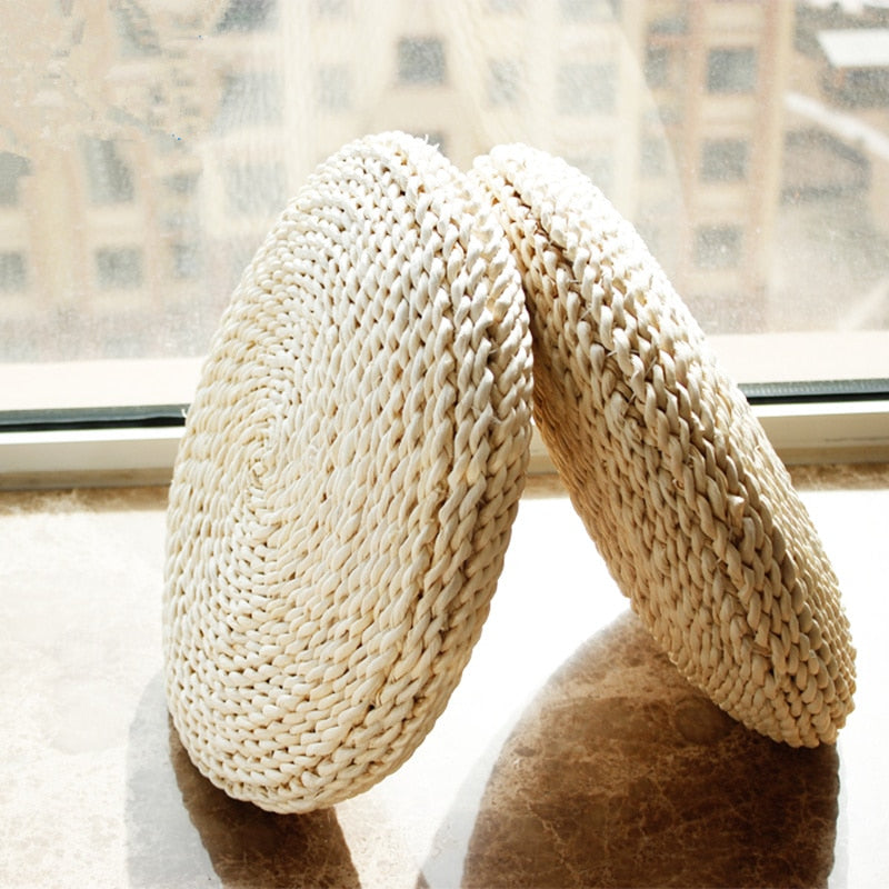 Husk Straw Meditation Cushion