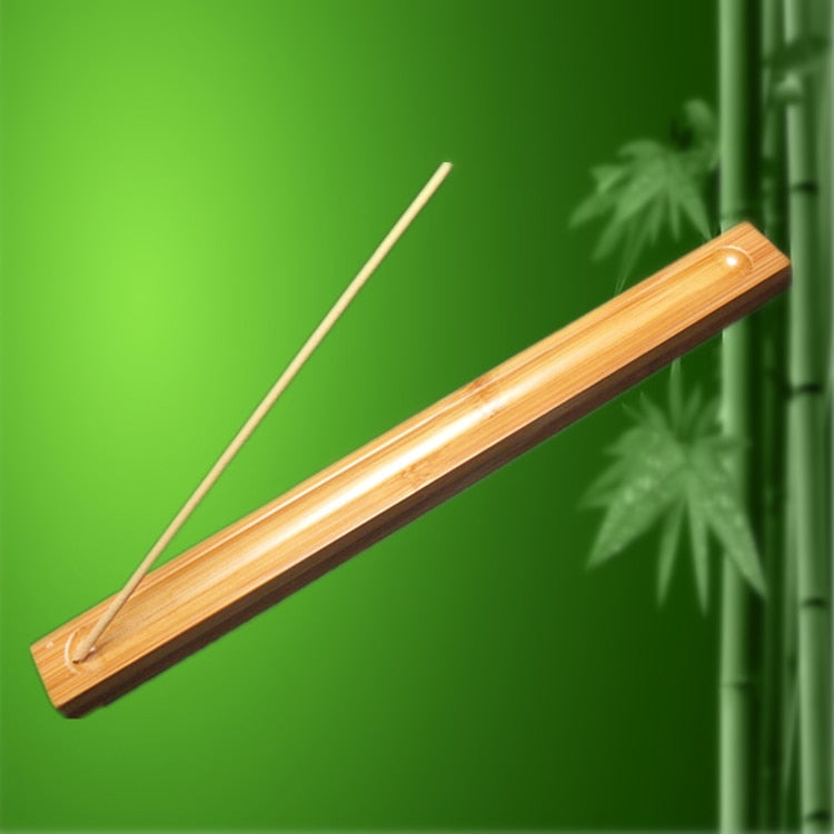 Bamboo Stick Incense Burner