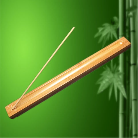 Image of Bamboo Stick Incense Burner