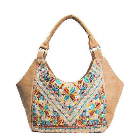Image of PU Leather Bohemian Handbag